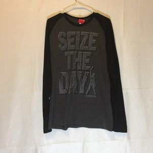 NWT Disney Newsies seize the day tee large unisex